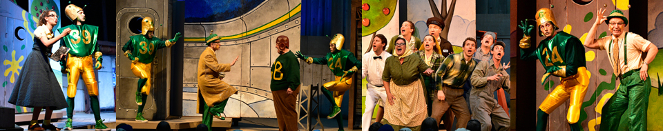 Packer Fans from Outer Space production photos